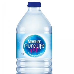Nestle Pure Life Su 1 Lt. 6'Lı Paket