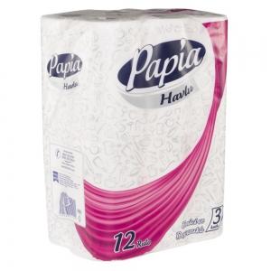 Papia Havlu 12'li 3 Katlı
