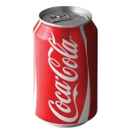 Coca Cola Kutu 330 ml 24 'lü